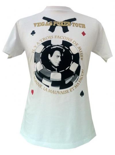 """Tshirt """"VEGAS POKER TOUR"""" par Sapofficiel"""