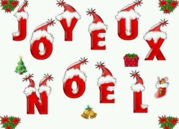 Bon réveillon et bon Noël à tous gros bisouss