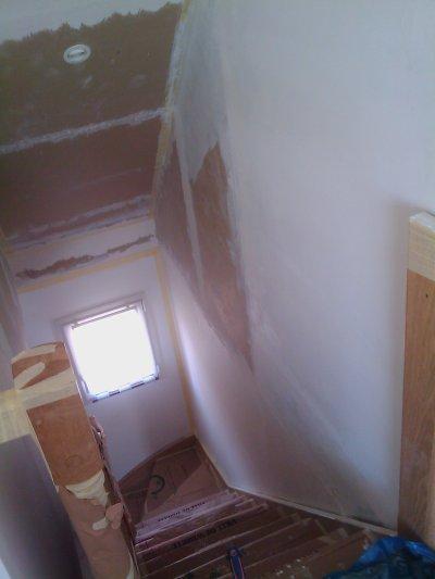 déco de la descente d'escalier
