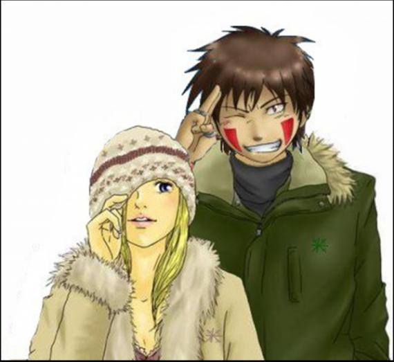 Ino & Kiba