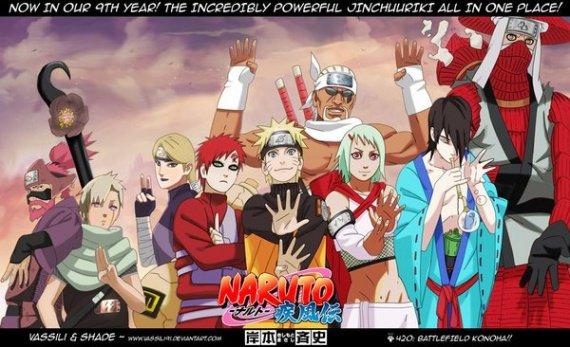 Naruto, Le Groupe