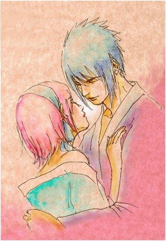 Sakura & Sasuke ♥ ( suite n°2)