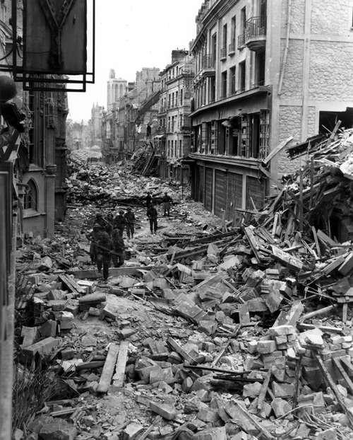 6 juin 1944 et le début de la souffrance des civils normand .