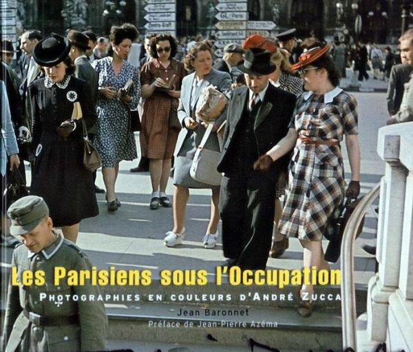 les parisiens sous l'occupation photos de 1942.
