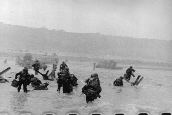 aujourd'hui, 6 juin 2011, voilà 67 ans depuis le débarquement.