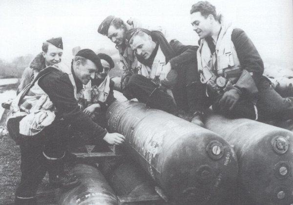 les pilotes français des groupes lourds à elvington