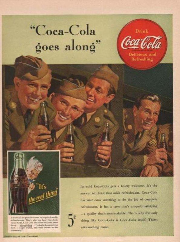 la célèbre boisson pendant la guerre.