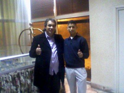 mon ami hicham avec morad dja3efri
