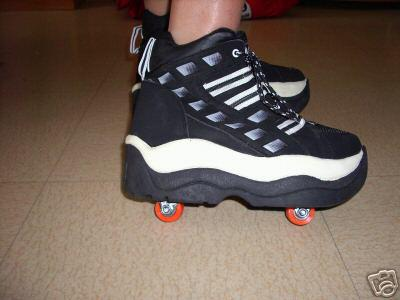 avancement du cosplay de mikan air gear voici les chaussures rollers