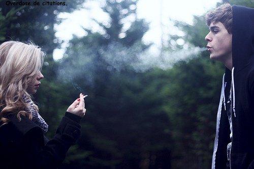 Si l'amour était une drogue, j'aimerai mourir d'une overdose.