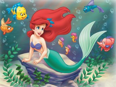 Ariel Polochon Personnage De Disney Attraction