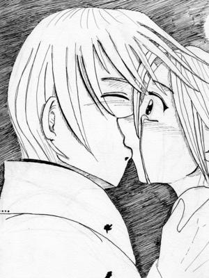 Bisou bisou manga dessins - Dessin de bisous ...