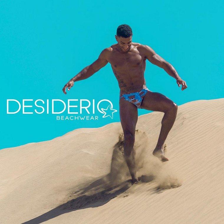 Eric Juma, Gonzalo Fernandez & Marcel Gonzalez pour Desiderio Beachwear