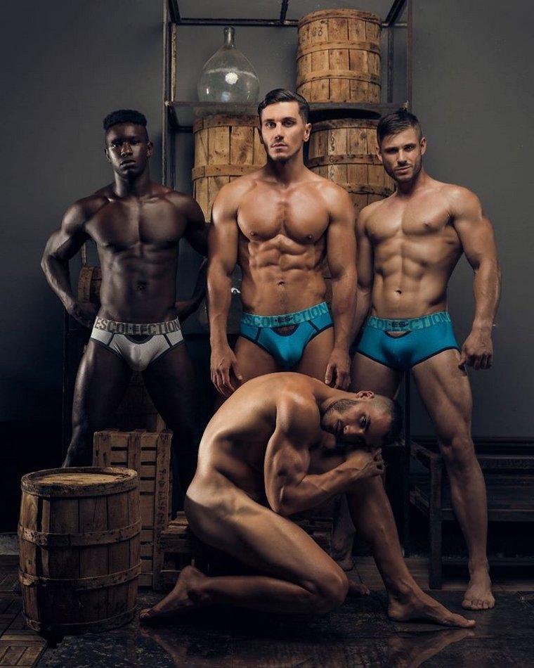 Latyr, Oleg, Daniel & Alejandro (ES Collection)