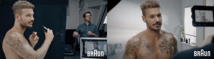 M Pokora pour Braun