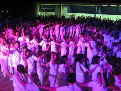Baptême des nouveaux étudiants de l'ifsi mai 2011. Les étudiants infirmiers et aides soignants porteront le nom de......
