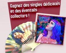 Gagnez des singles dédicacés et des éventails collectors !!