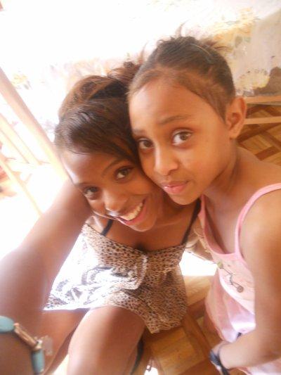 me  and  ma sister