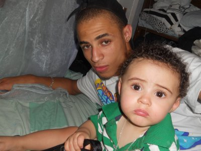 my brother and mon neveu