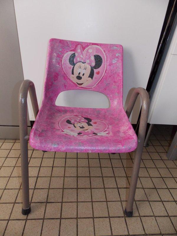 Petite chaise AVANT/APRES