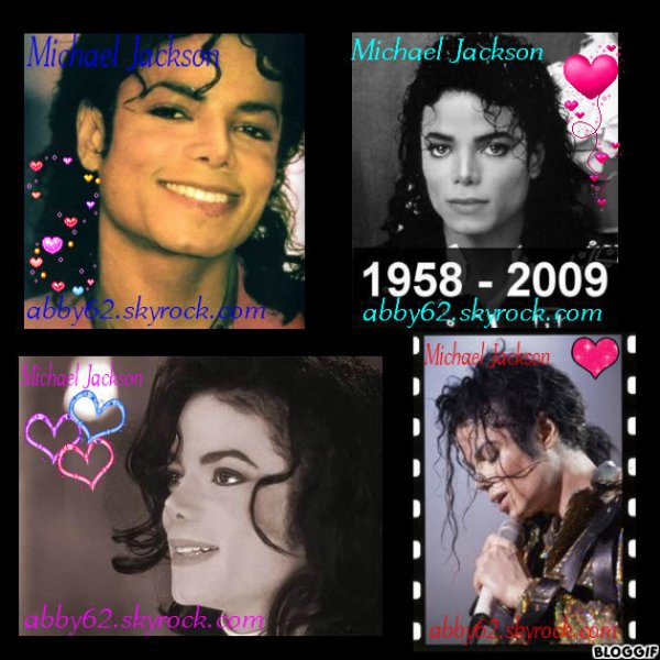 Montage Michael Jackson ♥