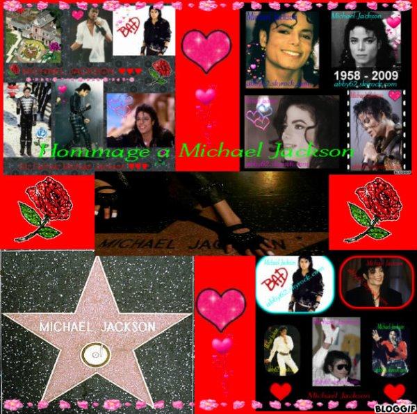 Hommage a Michael Jackson ♥♥♥