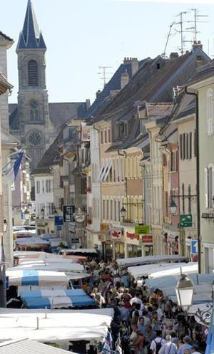 Continuons notre ballade en montant vers le  Haut Rhin             Altkirch