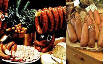 Recettes et spécialités Franche Comté - Doubs   Gastronomie - Spécialités Saucisses de Montbéliard et de Morteau