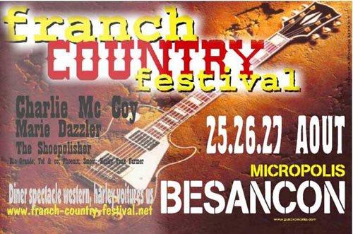 visite et sortie Franche Comté - Doubs   Sortir - Grands évènements Franch-Country festival