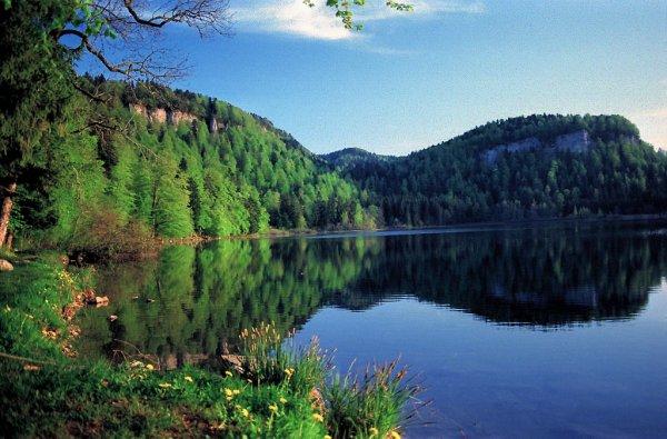 Jura   Nature - Sites naturels Lac de Bonlieu