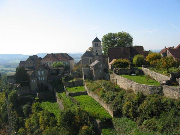 Jura   Patrimoine - Villes & Villages Château-Chalon