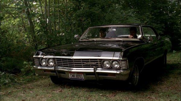 Chevrolet Impala 67 Noir