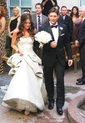 Jensen Ackles et Daneel Ackles à leur mariage