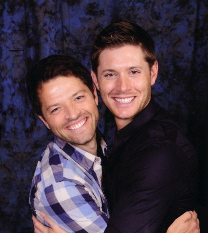 Misha Collins et Jensen Ackles