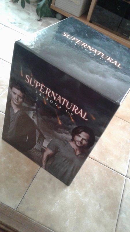 Mon coffret Supernatural