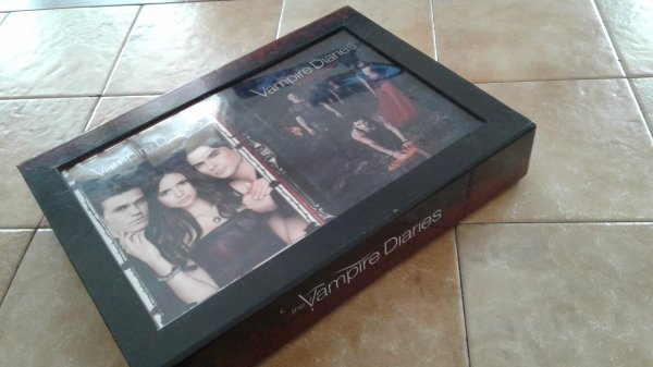 Mon coffret Vampire Diaries