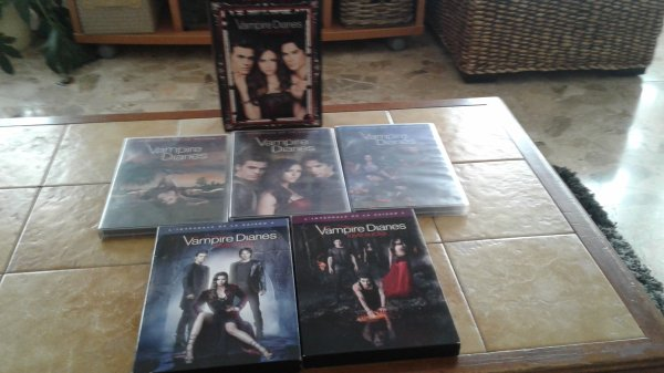 Dvd Vampire Diaries