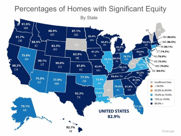 **712,000 Homes in the US Regained Equity in the Past 12 Months!**