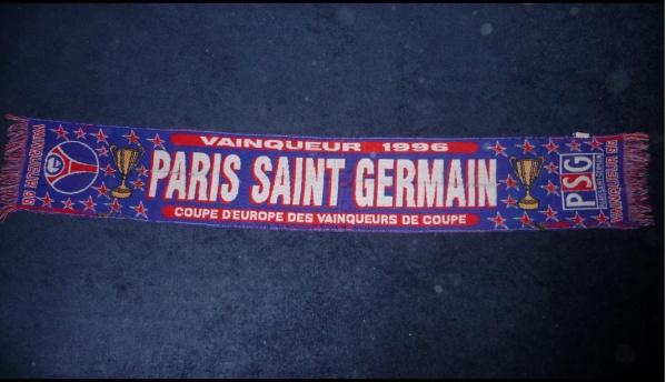 prix spécial pour très loué vente en magasin Echarpe Officiel PSG COUPE D'EUROPE 1996 - Blog de ultra ...