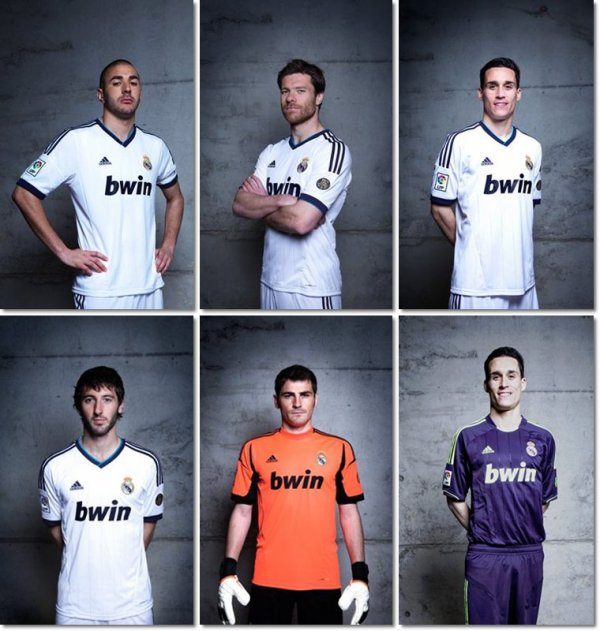 Nouveau maillot Real Madrid !♥