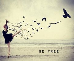Just be free. The rest, you don't care. Alright ?
