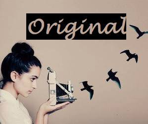 Don't be a simple copy of the others. Be original.