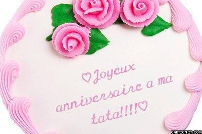 Joyeux Anniversaire A Ma Tata Cherie Blog De Lolo Petite Princesse