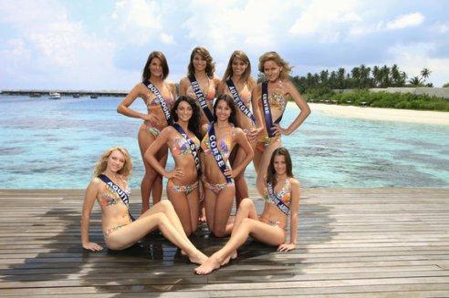 Les Miss en Bikini 1