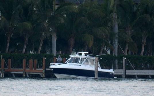 Enrique et Anna en bateau le 26/11/12