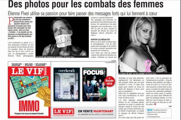 Dans la presse, avec Etienne Pixel...