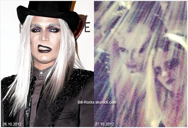 8 062 / Adam Lambert et Bill portaient des costumes similaires pour Halloween.
