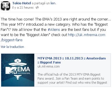 8 361 / Facebook - Tokio Hotel.