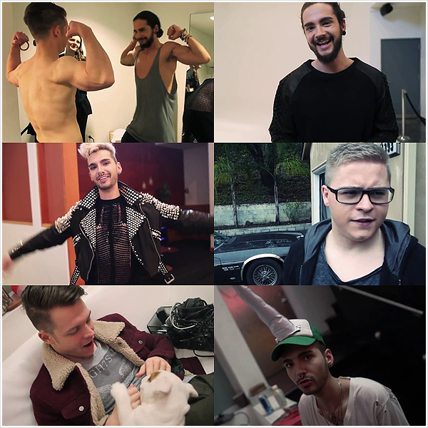 8 518 / Tokio Hotel TV 2014 Official Season Trailer - SCREENSHOTS