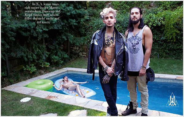 8 759 / INTERVIEW Magazine (allemand) - Tokio Hotel Alphabet.